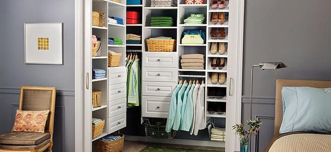 Maryland custom closet organizers easyclosets baltimore for Walk in closet planner